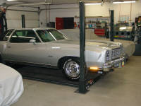 77 Chevrolet Monte Carlo.  We performed a frame on restoration on this car. It has taken first place awards at every show.