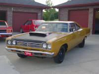 69 Plymouth 440 Six pack Road runner.  Nice car that only needed a few small items corrected.