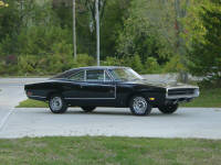 70 Dodge Charger. A complete front and rear suspension rebuild along with new brakes made it what it was supposed to be.